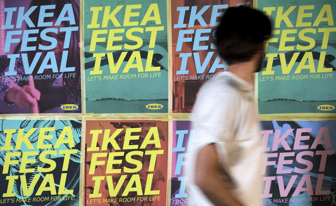 Beleef de woonkamer van de toekomst met IKEA in Milaan