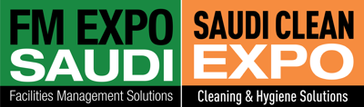 FM EXPO Saudi and Saudi Clean Expo غرفة الصحافة Logo