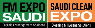 FM EXPO Saudi and Saudi Clean Expo غرفة الصحافة Logo
