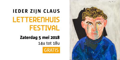 Letterenhuis presenteert de tweede editie van het Letterenhuisfestival