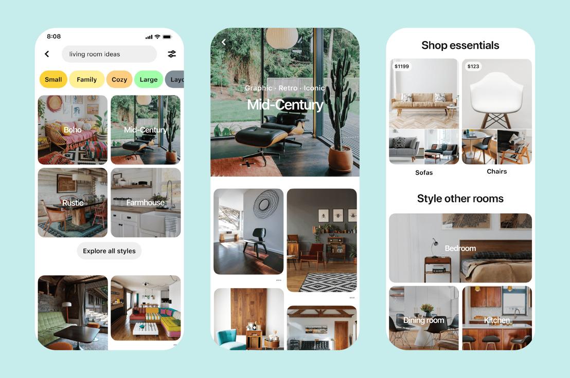 Nuevas formas de comprar en Pinterest y descubrir pequeñas empresas de todo tipo