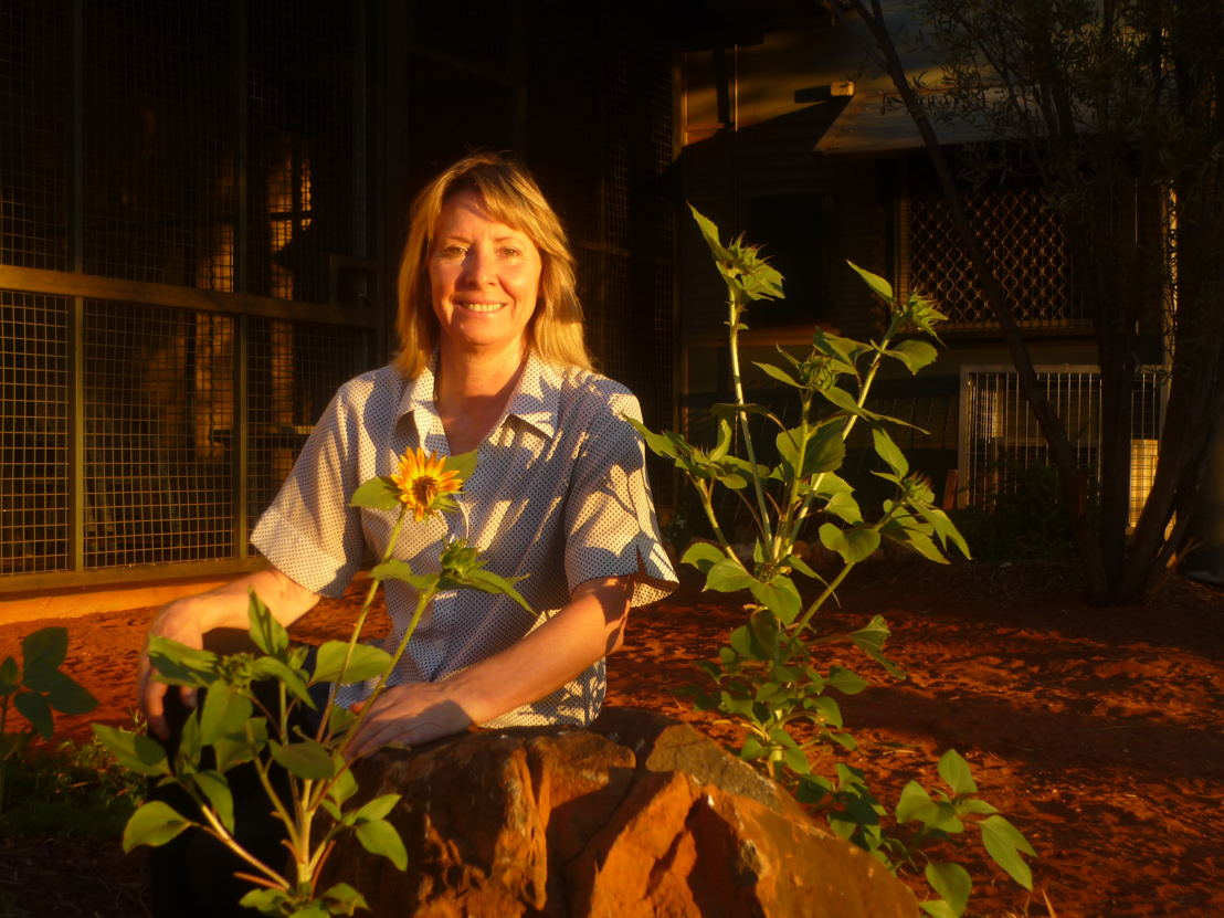 Gayle Woodford in her front garden.jpg