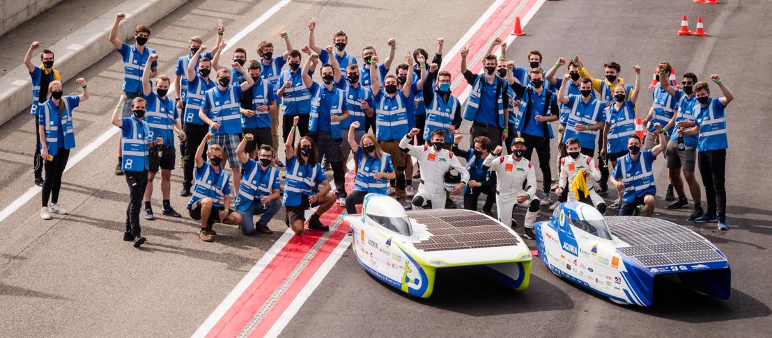 La voiture solaire belge remporte le Championnat d'Europe