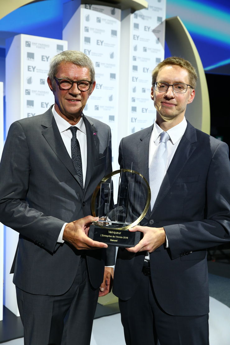Jean-Claude en Giles Daoust, gedelegeerd bestuurders van Daoust 'L'Entreprise de l'Année®' 2016 (c)Frederic Blaise