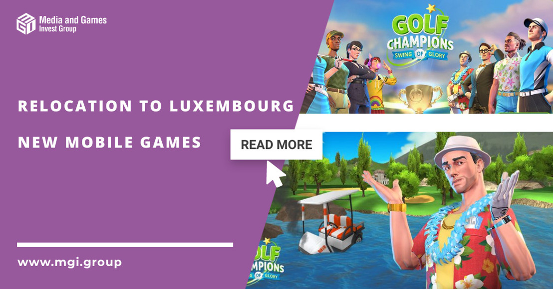 MGI plans to relocate the company's registered office to Luxembourg and announces new game-launches for the coming quarters
