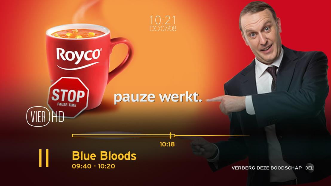 VIER en VIJF lanceren innovatieve commerciële communicatie met 'Pauzeknop-reclame'