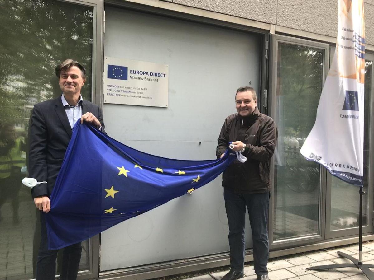 Op 6 oktober ging Europe Direct Vlaams-Brabant officieel van start. Burgers kunnen er terecht met hun vragen over de Europese Unie
