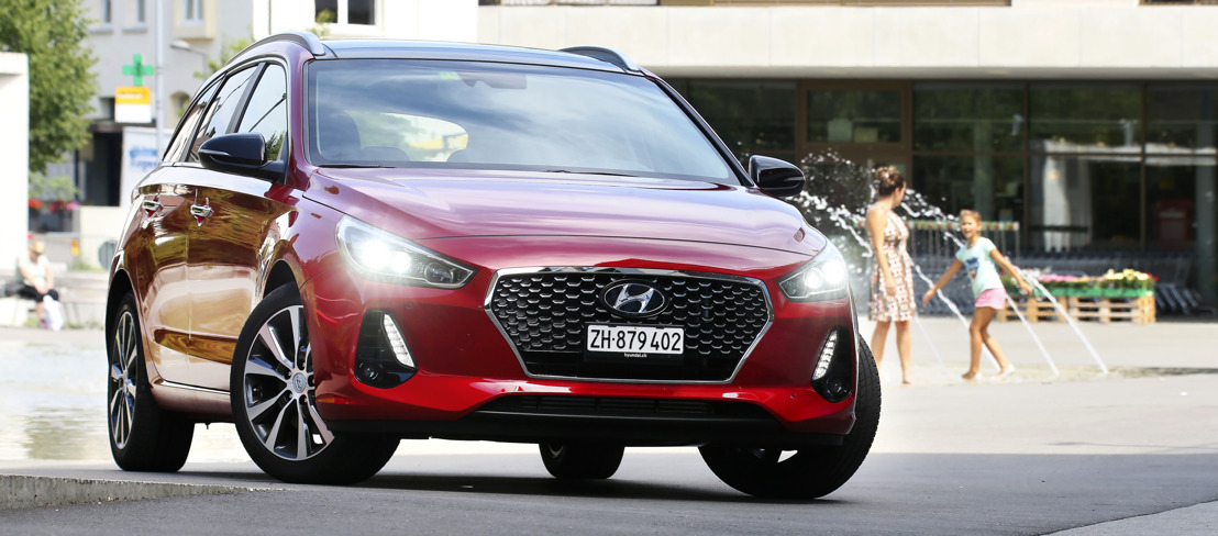 La All-New Hyundai i30 Wagon è arrivata in Svizzera