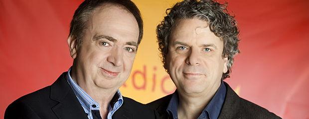 Luc Verschueren en Dirk Somers (c) VRT