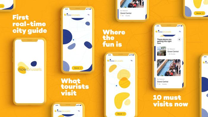 Visit.brussels et FamousGrey lancent now.brussels, le premier guide gratuit en temps réel pour explorer la capitale en compagnie de ses habitants