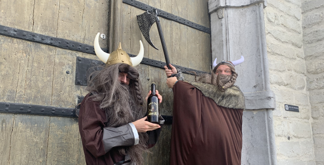 Vrijstaat Vanmol en brouwerij Alvinne toveren Vikingbier uit hun brouwketel