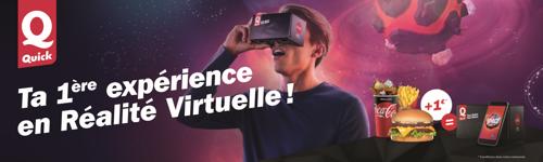 Quick rend la réalité virtuelle accessible à tous les Belges