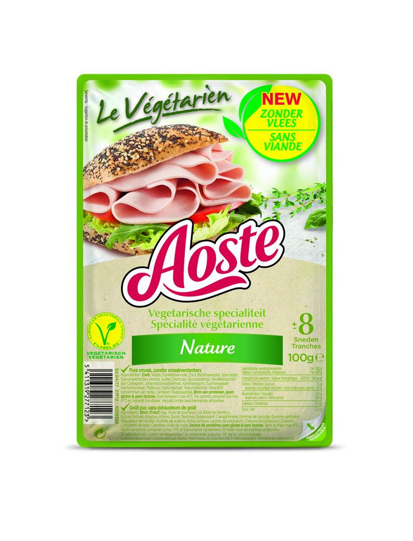 AOSTE Le Végétarien Nature