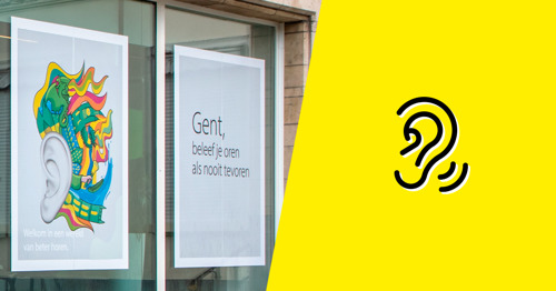 HeadOffice makes Ghent prick up its ears for 'World of Hearing by Lapperre'