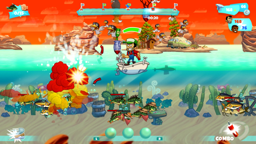 Fish are friends, not food. But: Dynamite Fishing coming to Nintendo Switch™