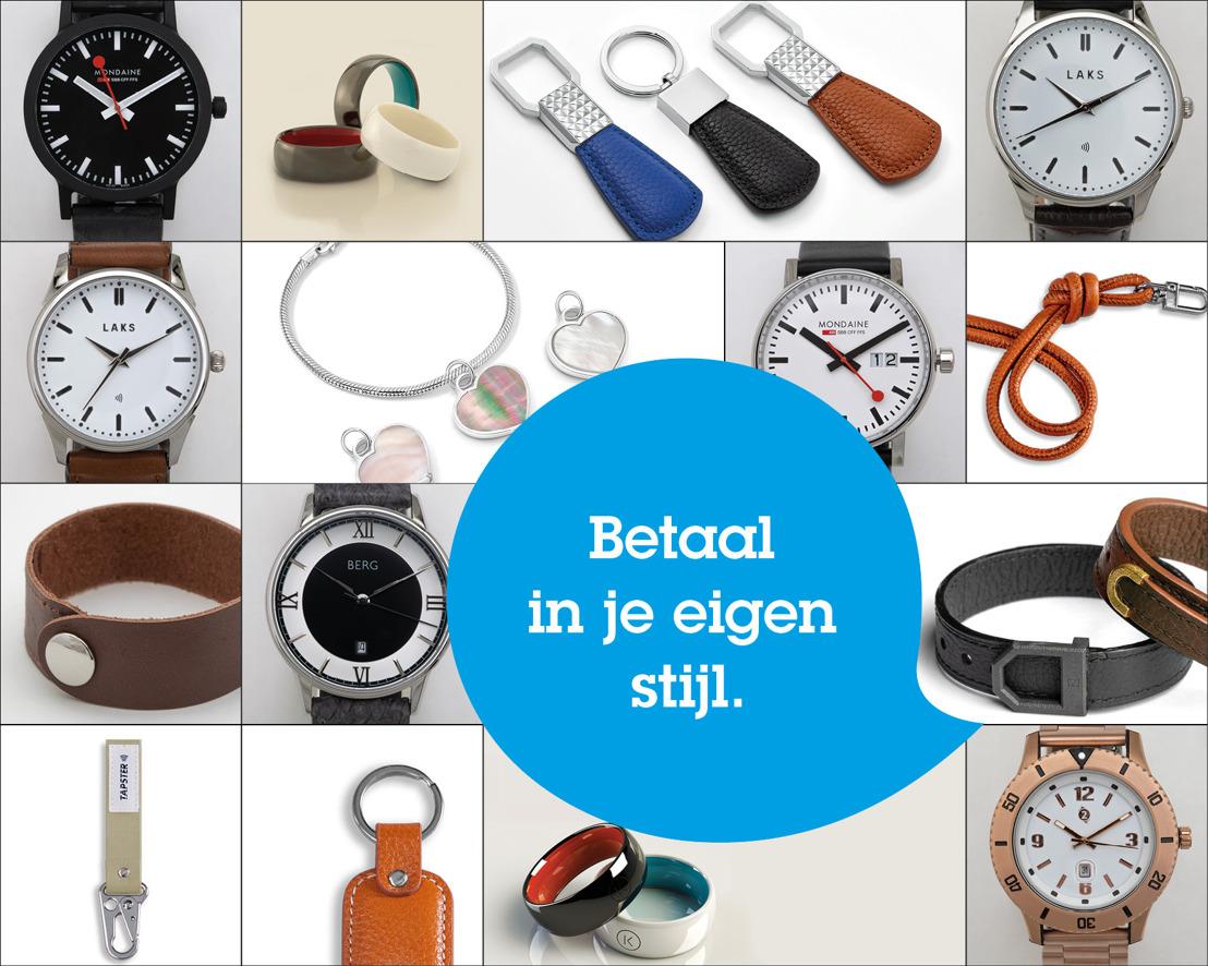 Vanaf vandaag kunnen alle KBC (Brussels) en CBC-klanten betalen met een wearable.