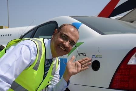 dnata pilots eco- friendly vehicles