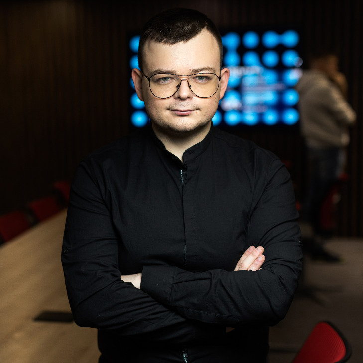 Maksym Bilonogov, general producer and chief visionary officer at WePlay Esports. Photo: WePlay Esports