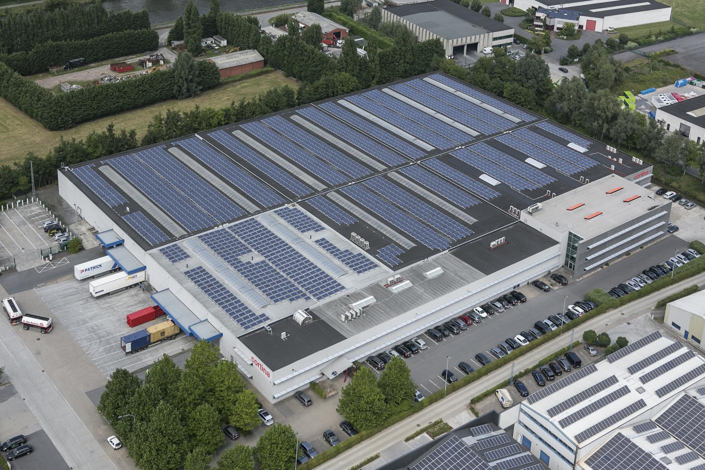 Eneco, le plus grand producteur d'énergie solaire en Belgique
