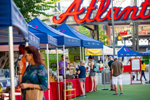 The Battery Atlanta is sporting a full lineup of family friendly outdoor activities this May