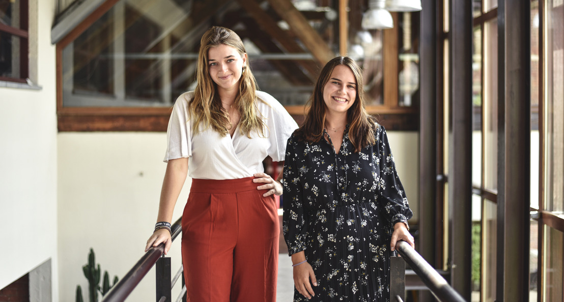 DDB Brussels welcomes Molly and Laurien