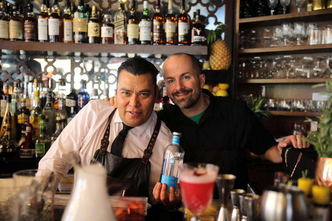 Samuel Ayala de La Buena Barra y Jim Meehan