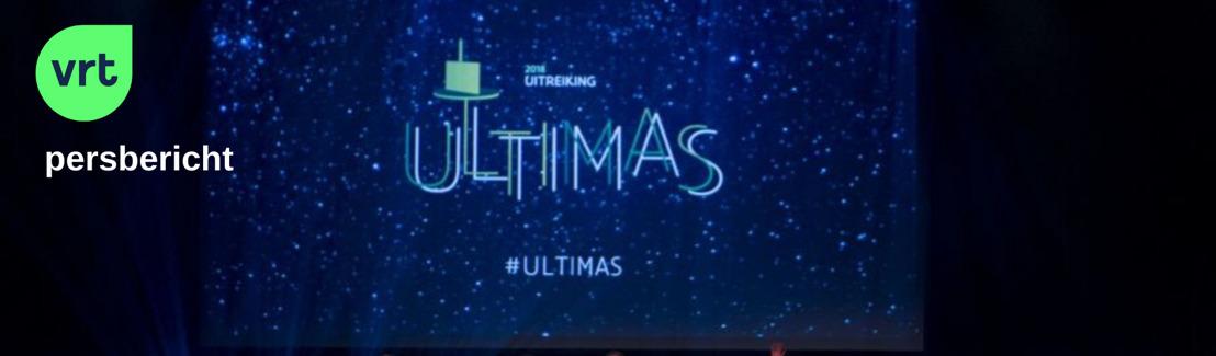 De Vlaamse cultuurprijzen: alles over de Ultimas bij de VRT