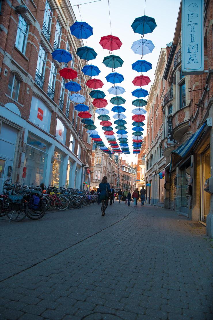 500jaarUtopia - Utopia loopt verder in de winkelstraten...