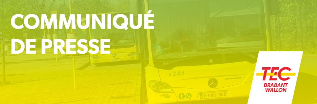 Le TEC Brabant Wallon assure une rentrée haute en couleurs pour ses clients !