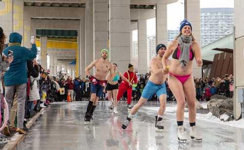 DARE TO 'BEAR' IT ALL? POLAR BEAR SKATE RETURNS TO THE BENTWAY - DECEMBER 29
