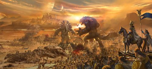 Mächtige Wächter, gewaltige Königreiche: God Kings erobert Mobile