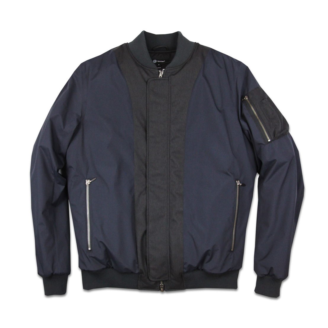 Cascade in Navy, Front