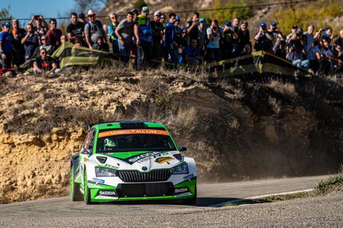 RallyRACC Catalunya: Jan Kopecký and Kalle Rovanperä crown season for ŠKODA by securing the WRC 2 Pro manufacturers' title*