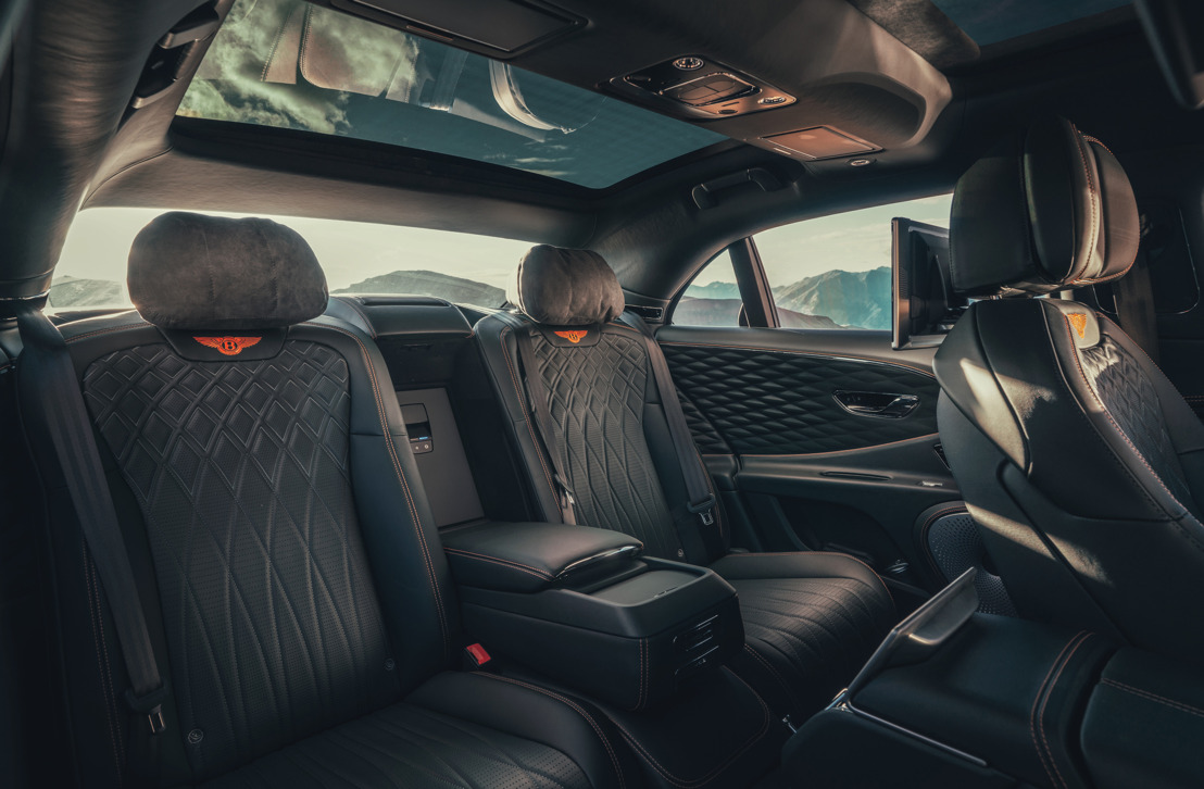 FLYING SPUR IN DETAIL: SPECIFYING THE ULTIMATE REAR CABIN