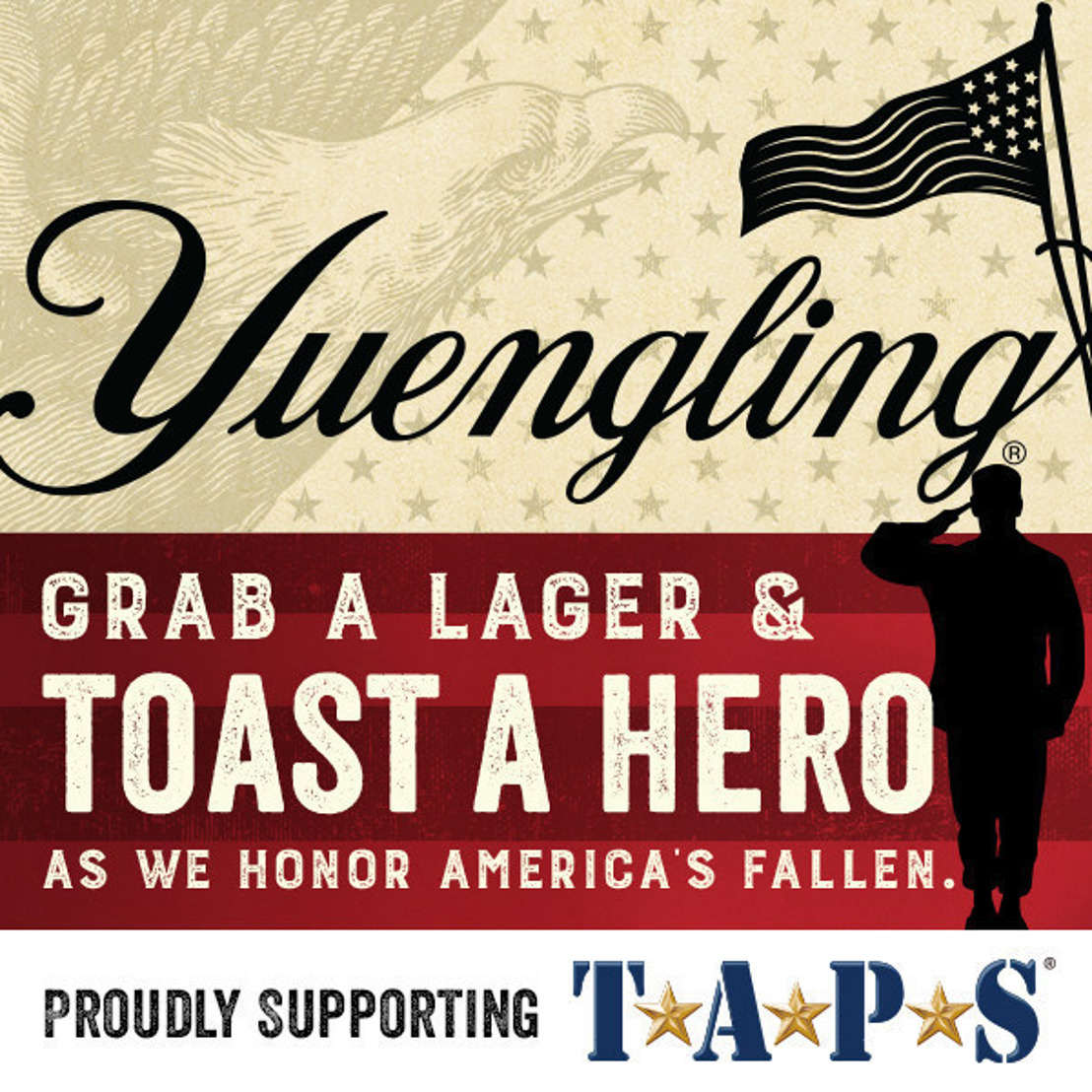 Yuengling's Lagers For Heroes Program Celebrates Two-Year Partnership With TAPS