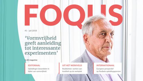 FOQUS - lancering e-zine NVAO