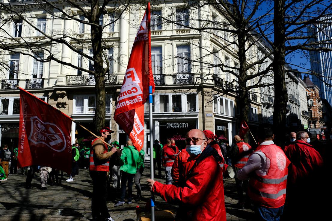 Vakbondsacties zijn buiten proportie
