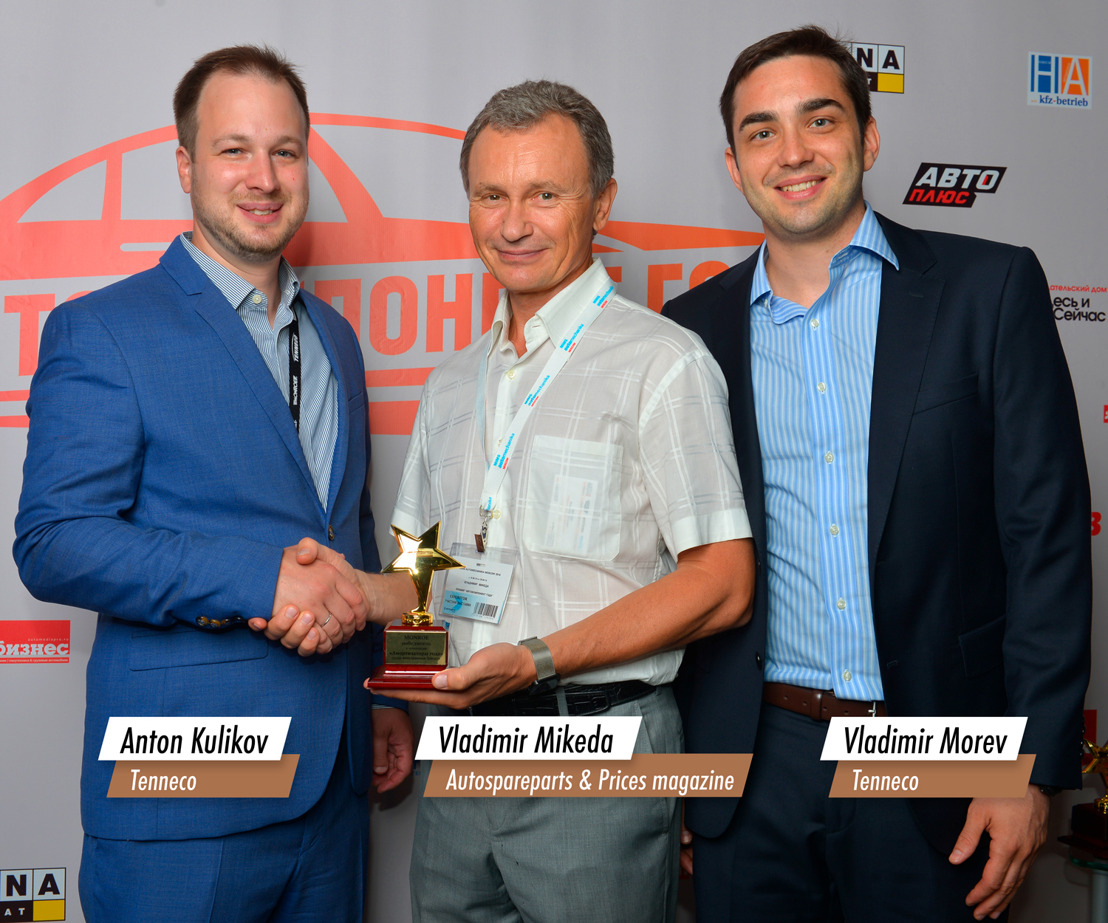 Monroe® Shock Absorbers Recognized with Two Leading Honors from Russian Organizations