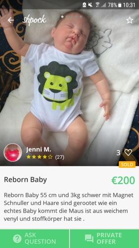 Lebensechte Puppen als Kinderersatz?