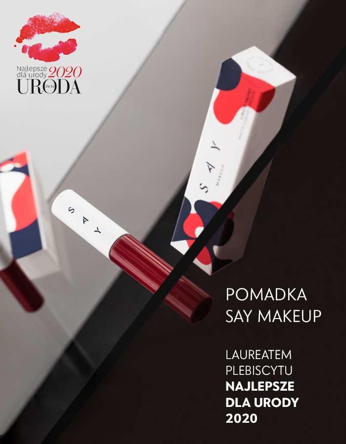 """SAY Makeup laureatem plebiscytu """"Najlepsze Dla Urody 2020"""""""