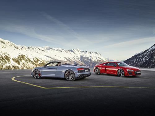 La rencontre du plaisir de conduire à l'état pur et d'une puissance accrue : l'Audi R8 V10 performance RWD