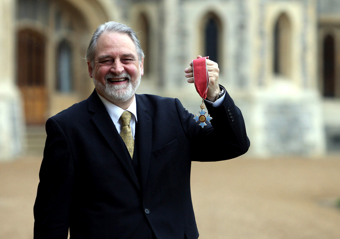 Who is David Bull CBE and why he became one of the world's most successful NGO directors?