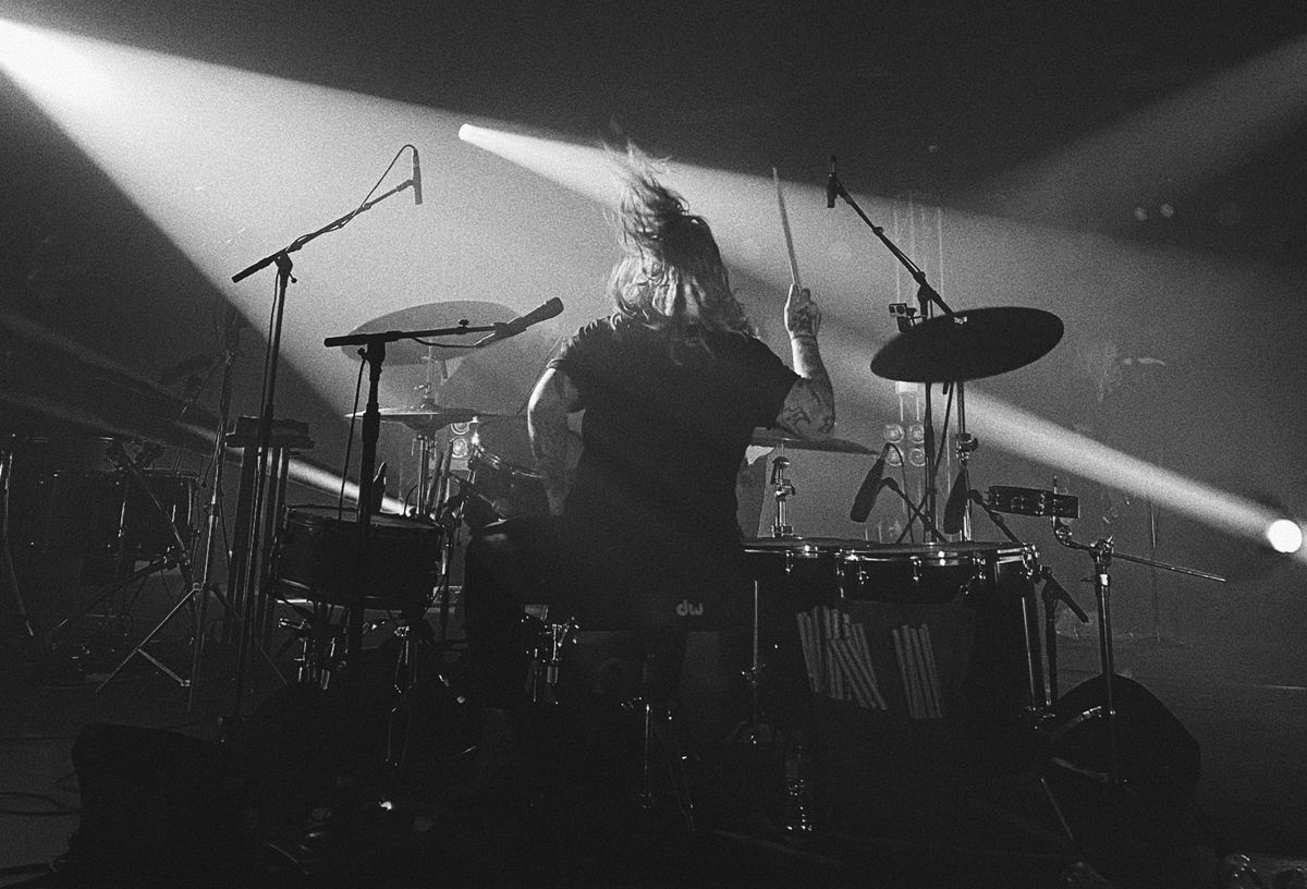 Underoath drummer and vocalist Aaron Gillespie trusts the MD 421-II and e 935 microphones to capture the band's unique sound