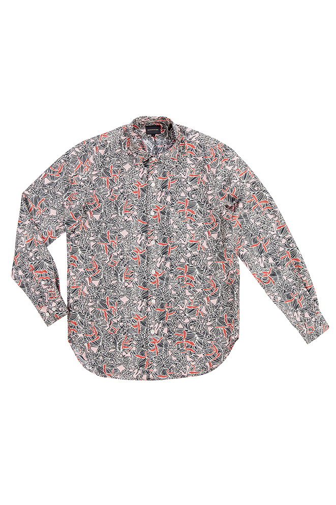 GR13 - Bananatime - rose shadows shirt - 310euro