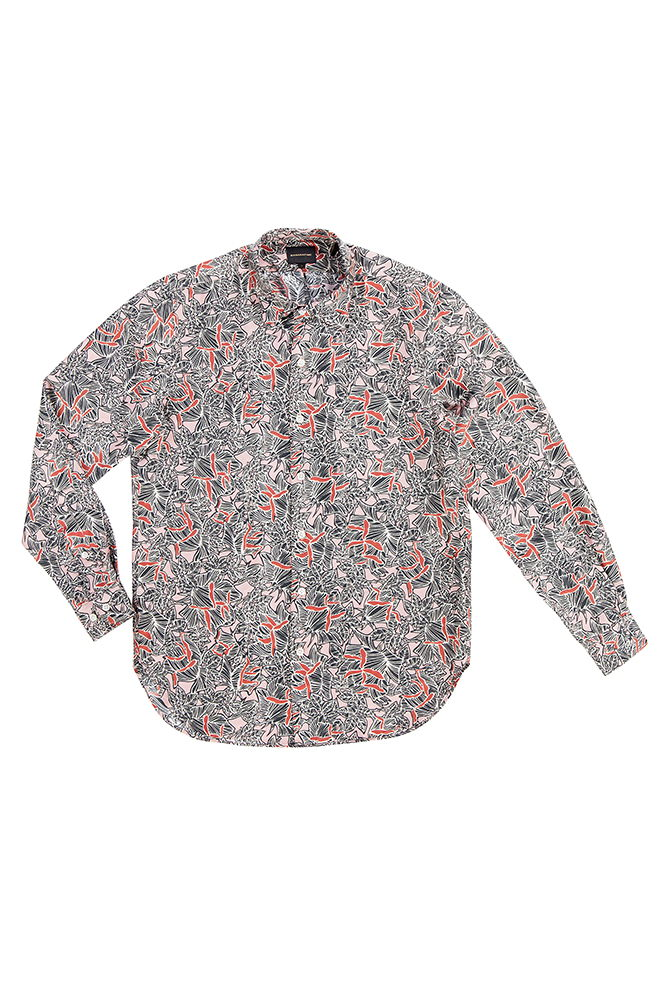 GR13 - Bananatime - rose shadows shirt - 310euro
