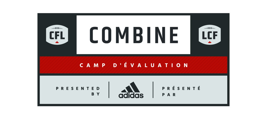 2016 National CFL Combine presented by adidas logo
