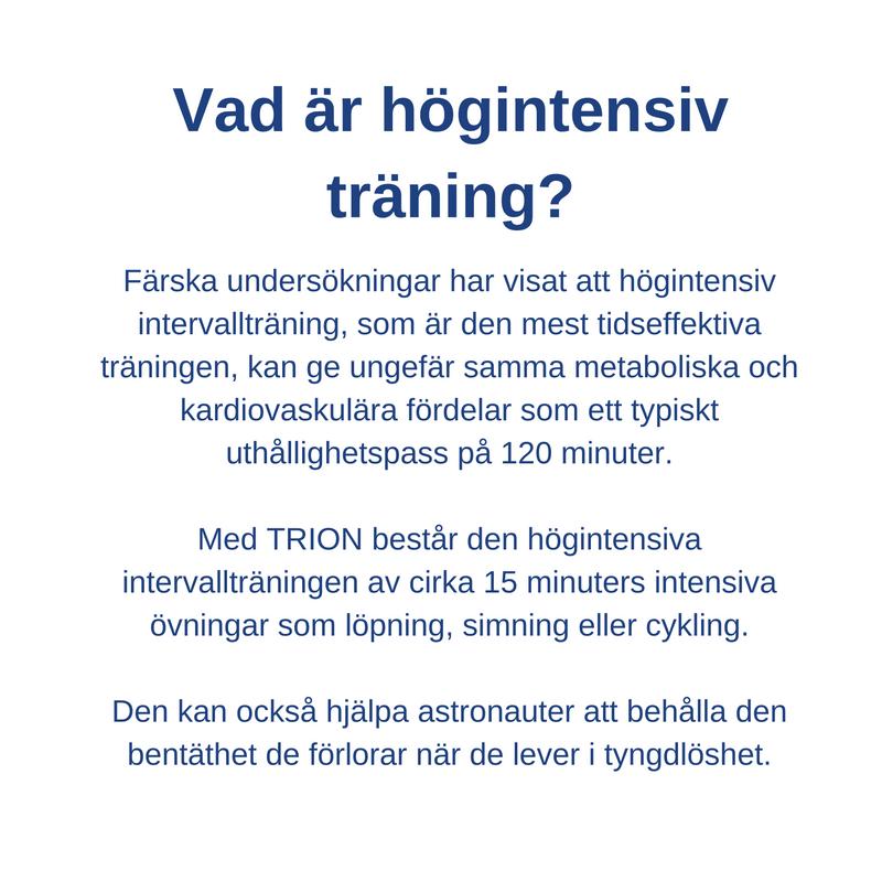 Vad är högintensiv träning?
