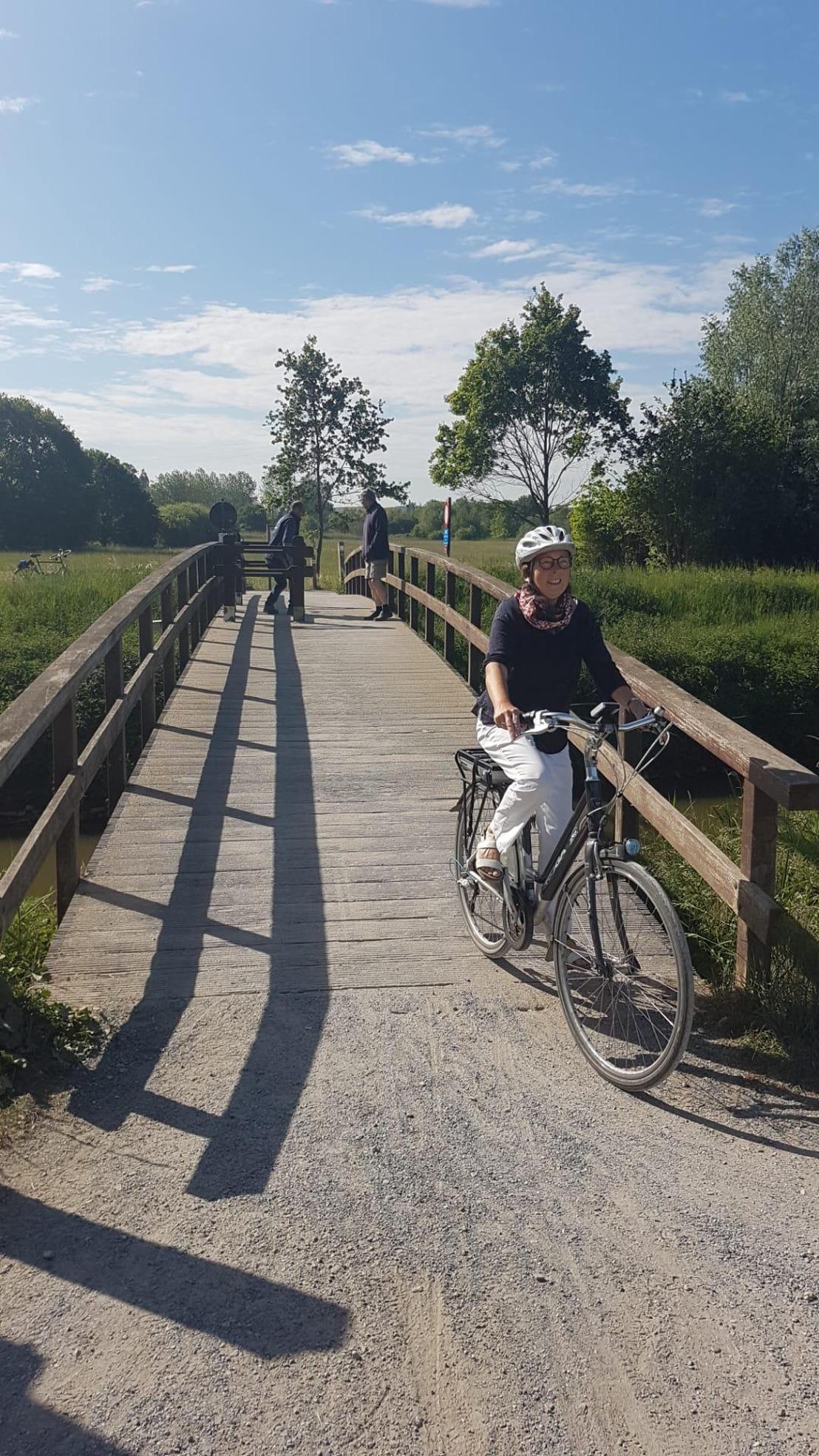Beemdenbrug in Langdorp opnieuw toegankelijk