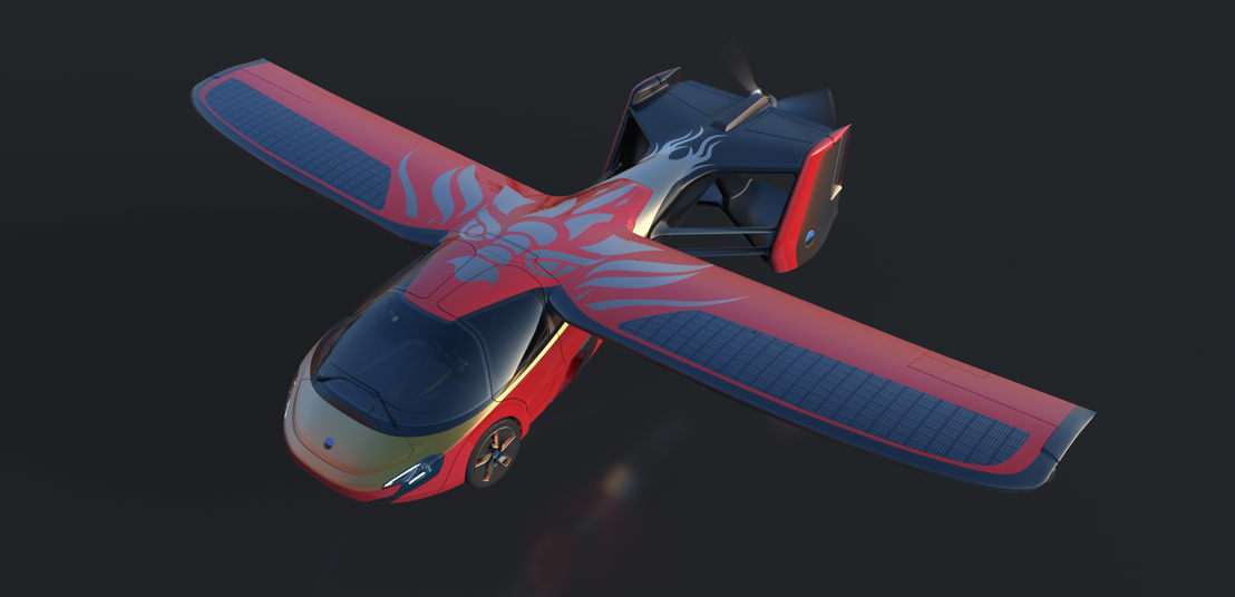 "AeroMobil 4.0 ""Sky Dragon"" concept flight mode"