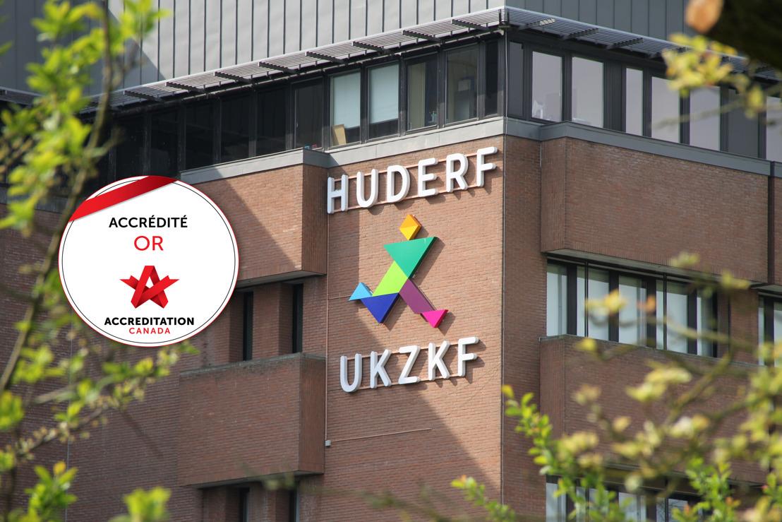 Het UKZKF behaalt een 'gouden' kwaliteitscertificaat